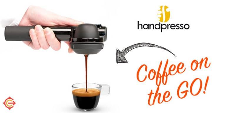 Handpresso - a travel-sized espresso maker for the traveling coffee addict!