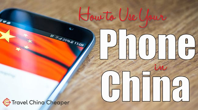 How to use your Phone in China