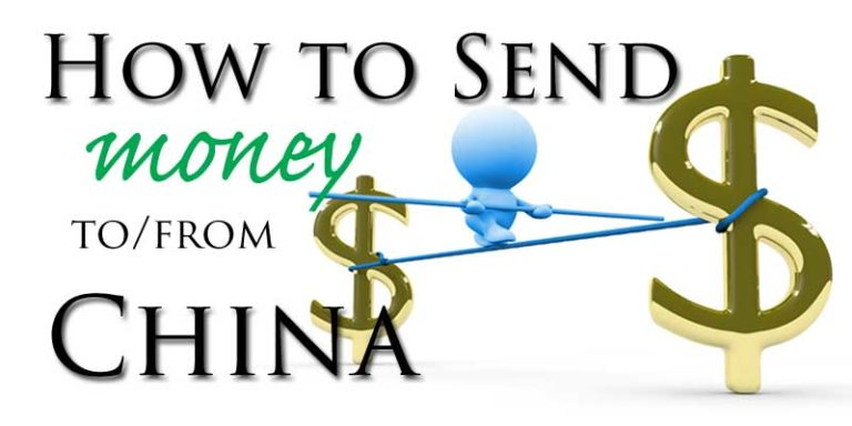 How to send money to/from China