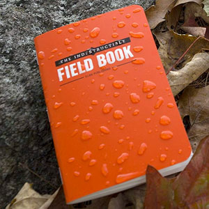 The Indestructible Field Book as a Travel Journal