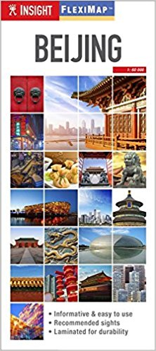Insight Guides Beijing Map & Guide