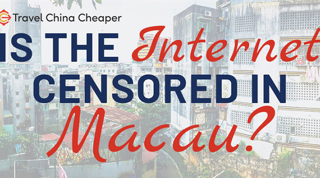 Is the internet censored in Macau?
