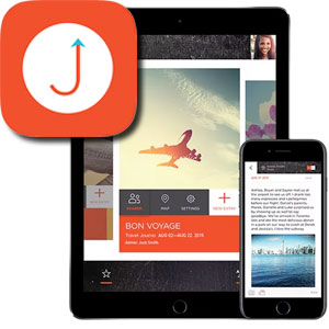 Journo, one of the best travel journal apps on the app store