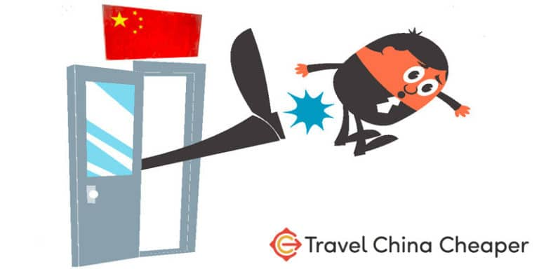 What happens if you're forced to leave China?
