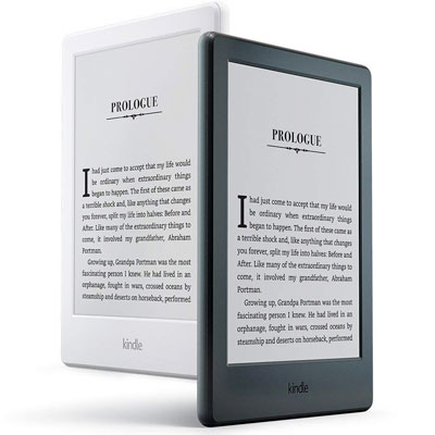 Give the traveler in your life the gift of reading with the Amazon Kindle