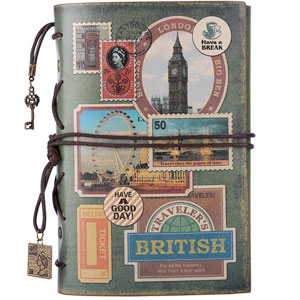 Maleden Leather Travel Journal