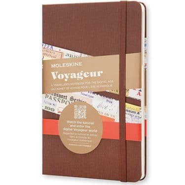 Moleskine Travel Journal, a great gift for travelers in your life.