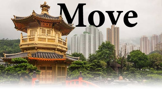 Move to China resources