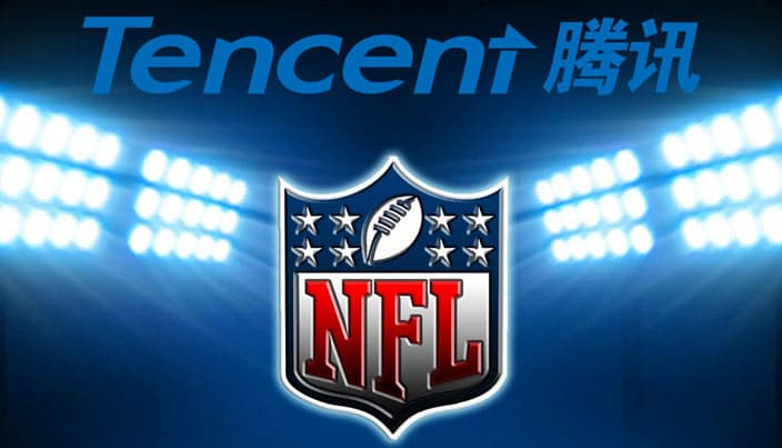 Watch the NFL in China via Tencent