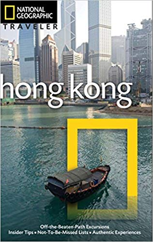 National Geographic's Hong Kong travel guide book