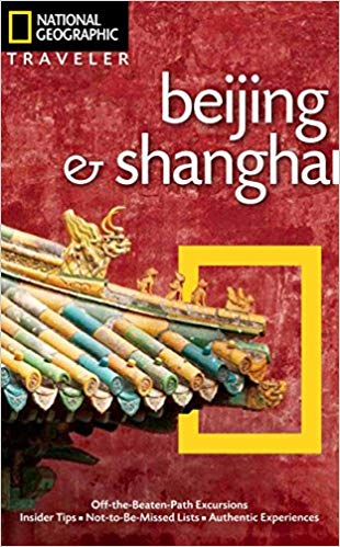 National Geographic Shanghai travel guide book