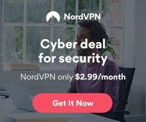 NordVPN service deal