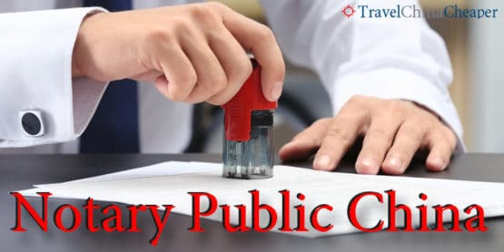Notary Public China | How to get a document notarized in China
