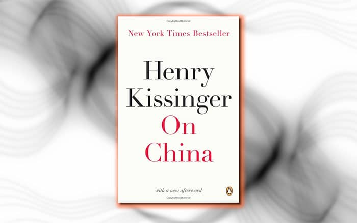 On China, a history book by Henry Kissinger