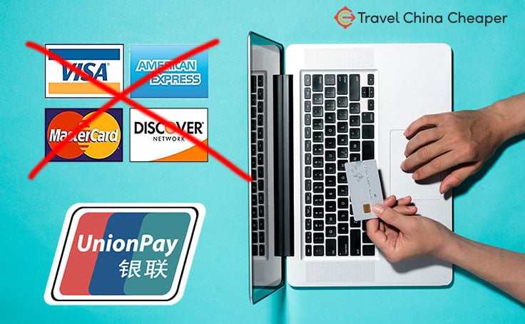 Use a UnionPay card to buy things online in China