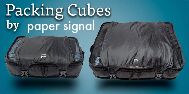 Packing Cubes by paper signal, a great set of travel gear.