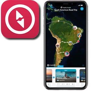 Polarsteps Travel Journal App
