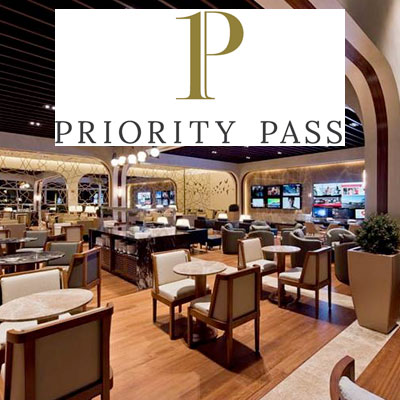 Give the gift of airport lounges with the Priority Pass