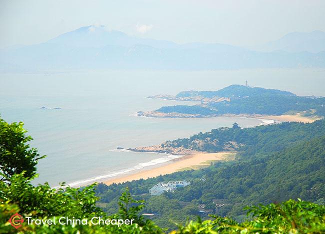 Putuoshan (普陀山), another excellent China beach near Shanghai in Ningbo.
