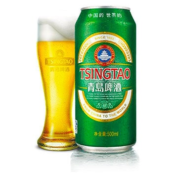 Tsingtao is the most popular Chinese beer on the market