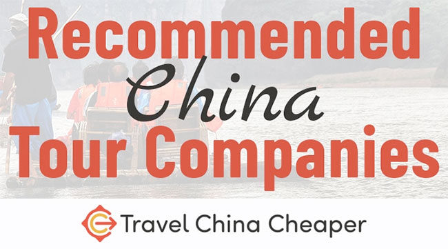 Check out our recommended China travel agencies