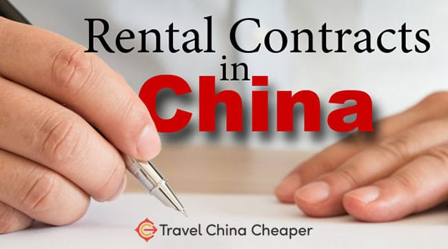 How to negotiate rental contracts in China