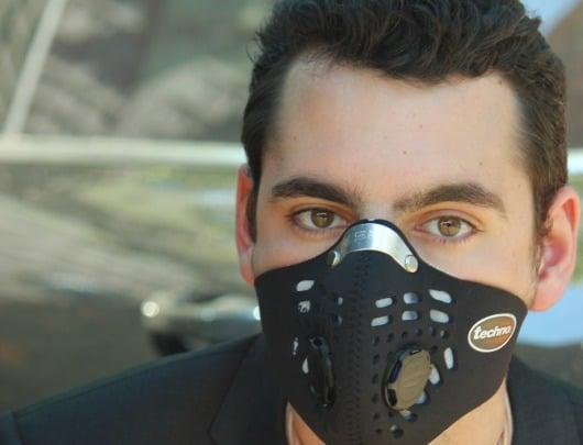 Respro Techno - Masque anti-pollution recommandé aux voyageurs et expatriés