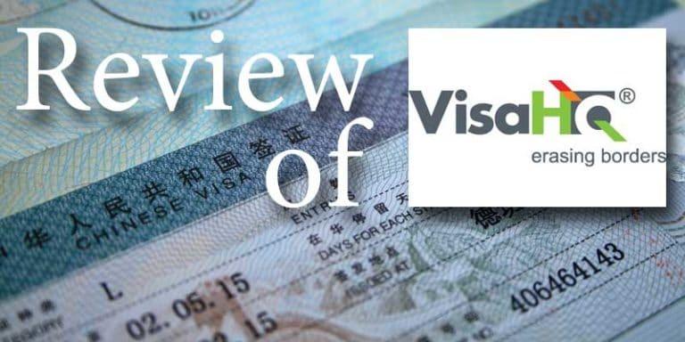 Review of VisaHQ for China visas