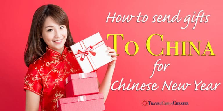 How to send a gift to China for Chinese New Year