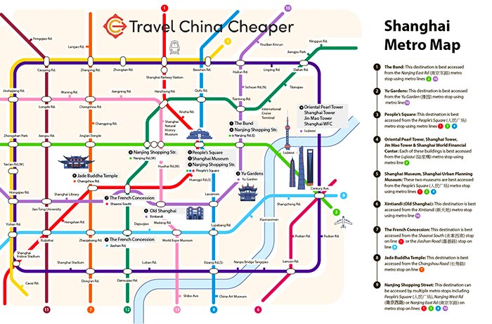 Printable Shanghai Subway Map.Free Downloadable Shanghai Metro Map 2019 Travelchinacheaper