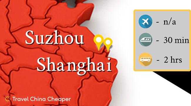 Shanghai to Suzhou China