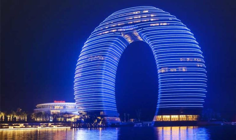 The Beautiful Sheraton in Huzhou, an example of unique Chinese architecture