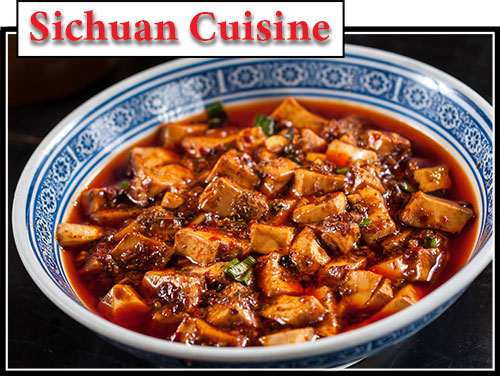 An example of Sichuan Cuisine in China