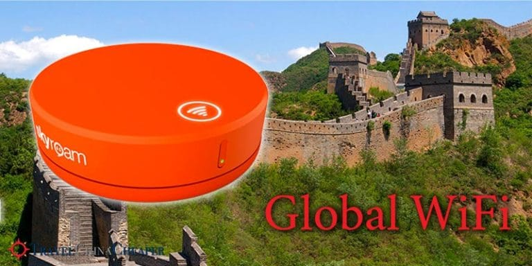 Global wifi using Skyroam allows you to have constant access to WiFi in China