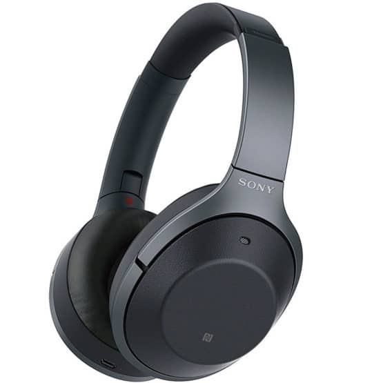Excellent noise-cancelling headphones from Sony, the WH-1000XM2