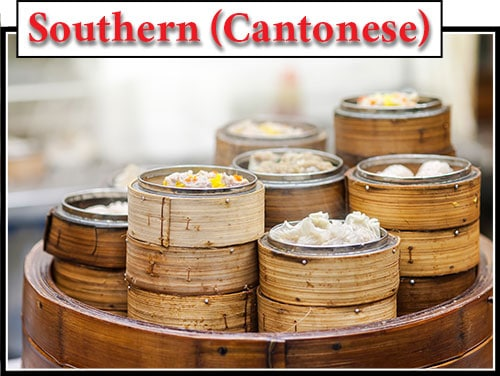 An example of southern Cantonese cuisine in China