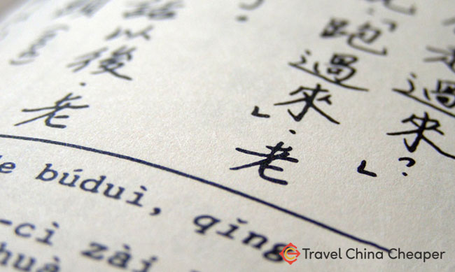 Studying Mandarin Chinese characters