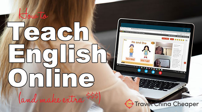 How to teach English online for extra cash