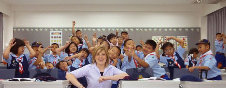 Get a job teaching English in China!
