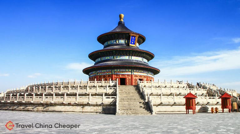 Beijing's Temple of Heaven, one of the most iconic buildings in China