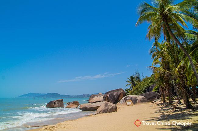 Tianya Haijiao, one of the best beaches in China (Sanya, Hainan)