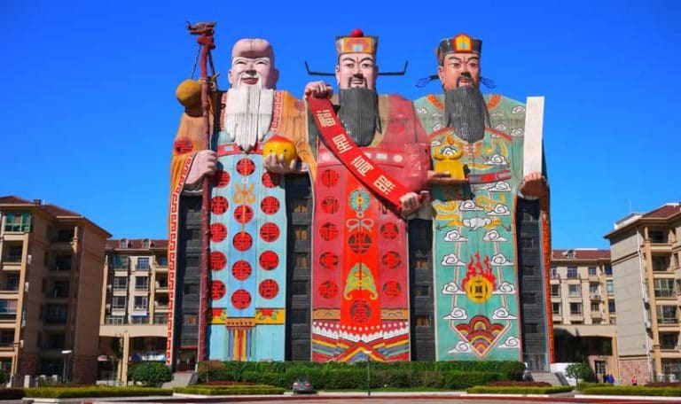 Tianzi Hotel Beijing, a weird Chinese building