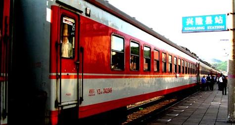 China's standard trains
