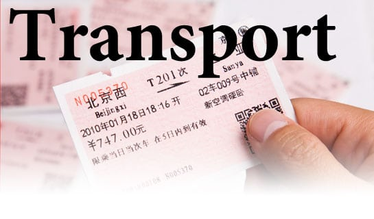 Transport around China