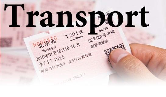Transport around China