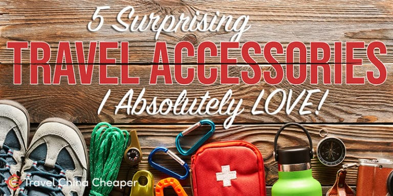 5 Surprising Travel Accessories that I LOVE!