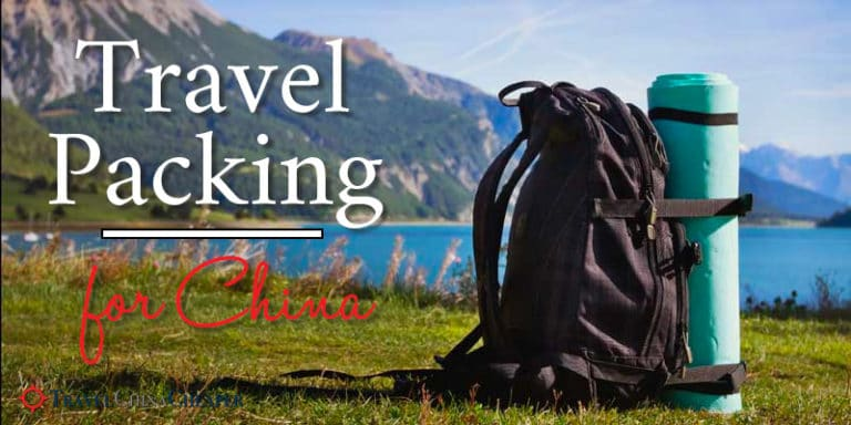 China travel packing checklist | What should you pack for China?