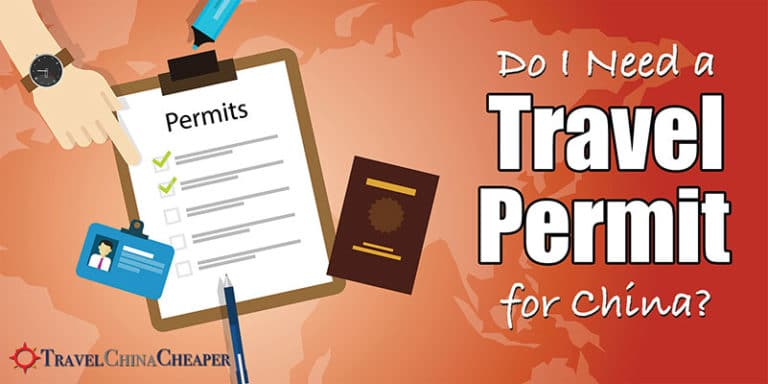 Do you need a travel permit for China?