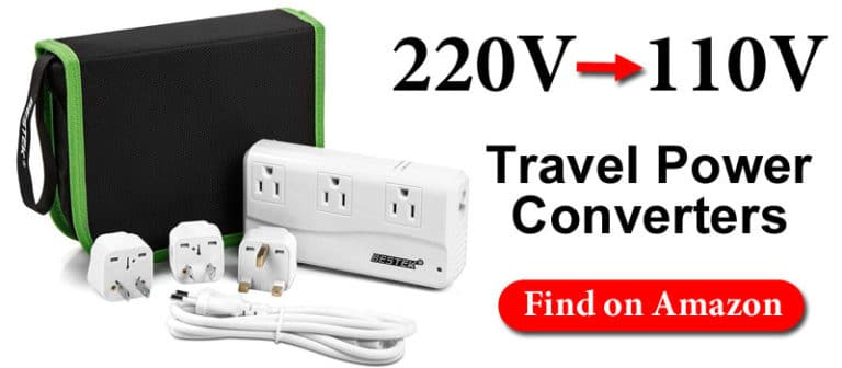 Travel Power Converter for China