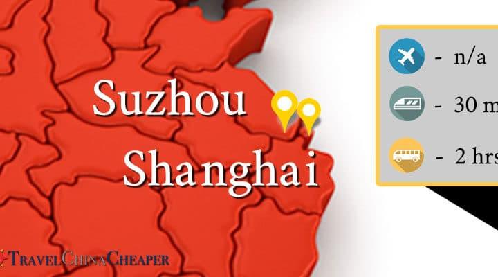 Travel from Shanghai to Suzhou transportation options
